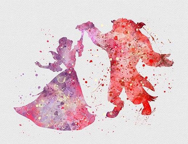 美女と野獣 バラ アニメ