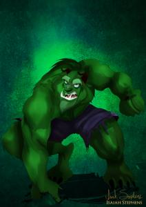 disney_halloween__beast_by_isaiahstephens-d6sc3re