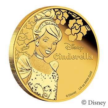 <これ欲しい>ニウエ発行のディズニーコインに新シリーズ登場 第1弾は金銀の 『シンデレラ』